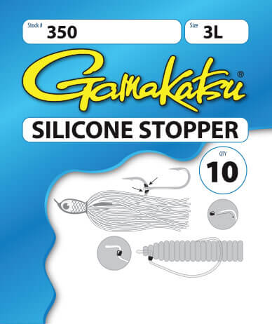 Silicone stopper package